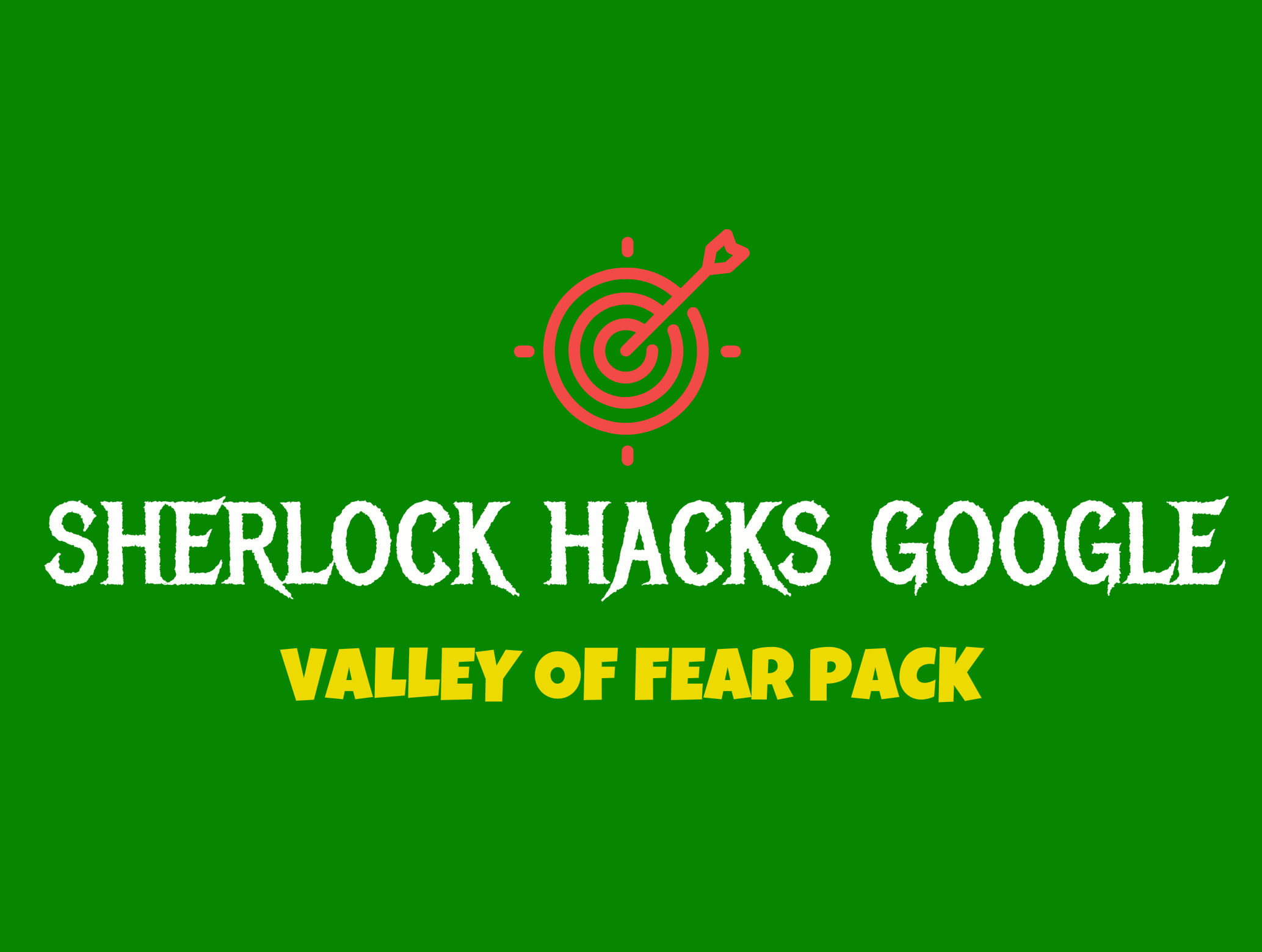 VALLEY OF FEAR SEO PACK