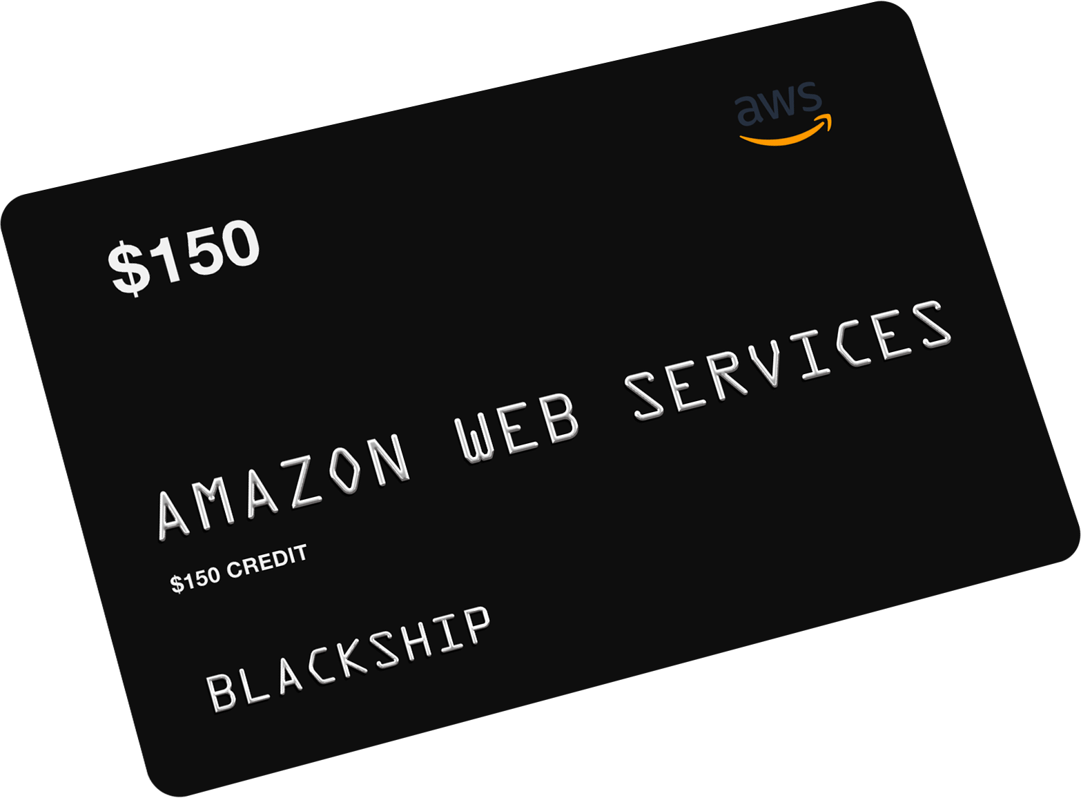 $150 Amazon Web Services (AWS) Credit