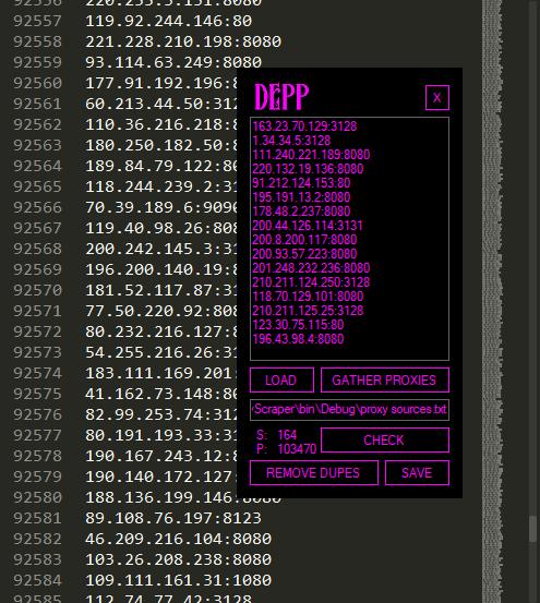 DEPP Proxy Scraper - Lifetime License