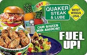 Quaker steak and lube discount coupons