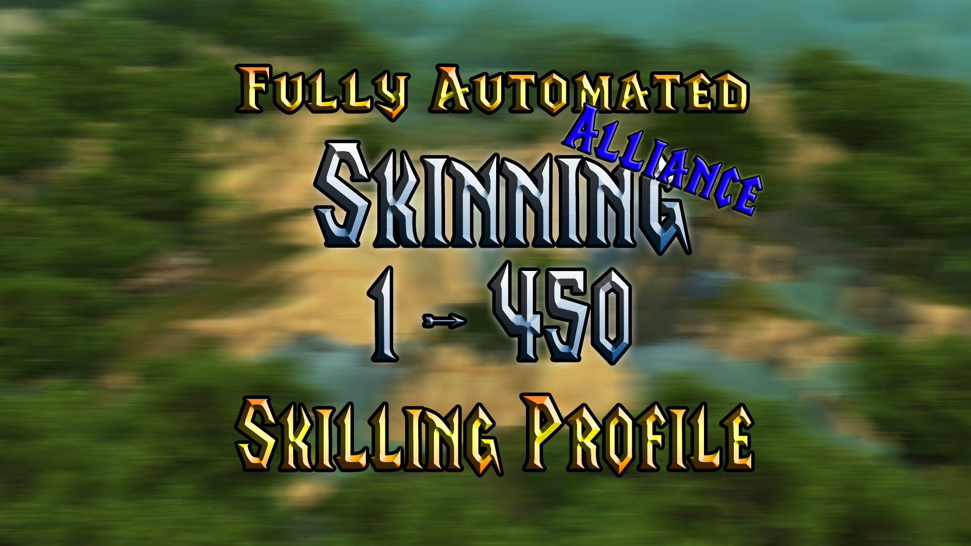 [WOTLK] Skinning - 1 to 450 - Alliance