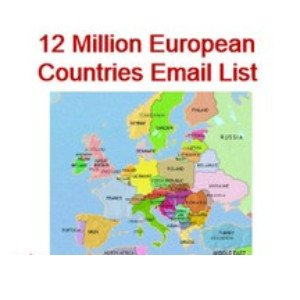 12 Million European Countries Email Database