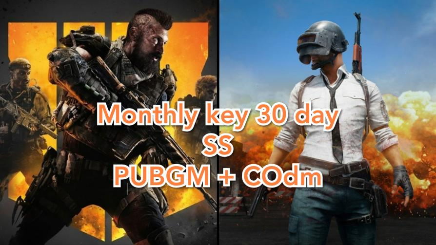 Monthy key 30 day SS PUBGM + call of duty ( ROOT )
