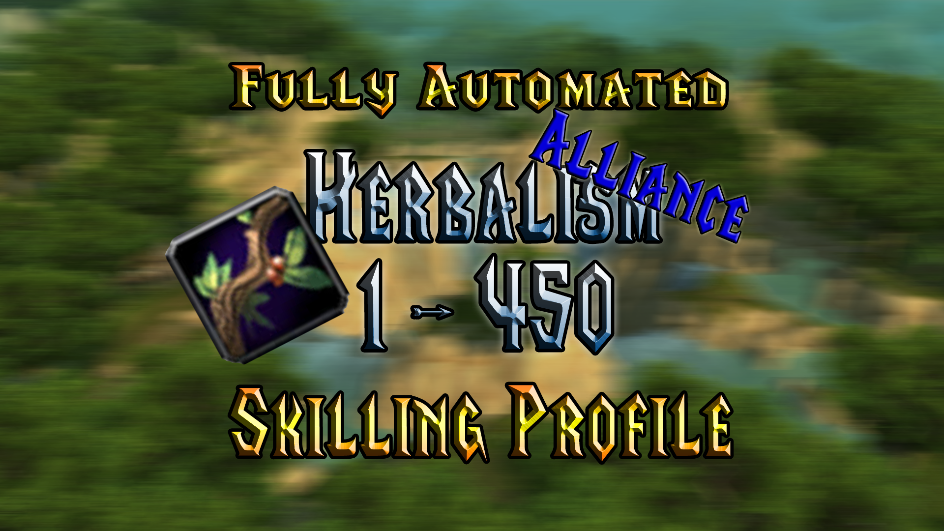[WOTLK] Herbalism - 1 to 450 - Alliance