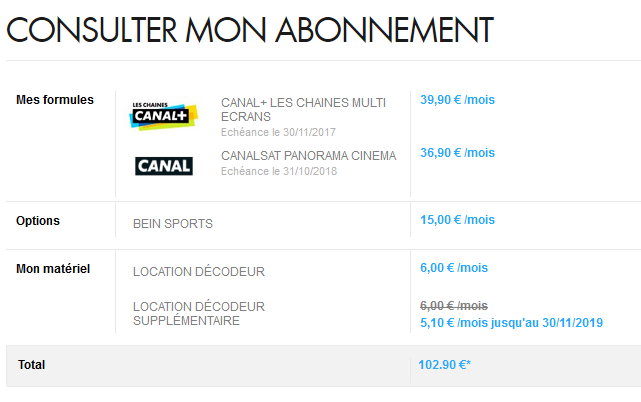 canal les chaines multi ecrans bein sports. Black Bedroom Furniture Sets. Home Design Ideas