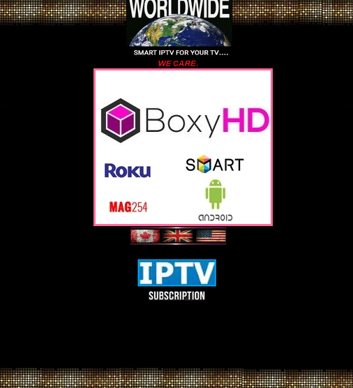 Boxy HD IPTV Pack 1- Months Subscription