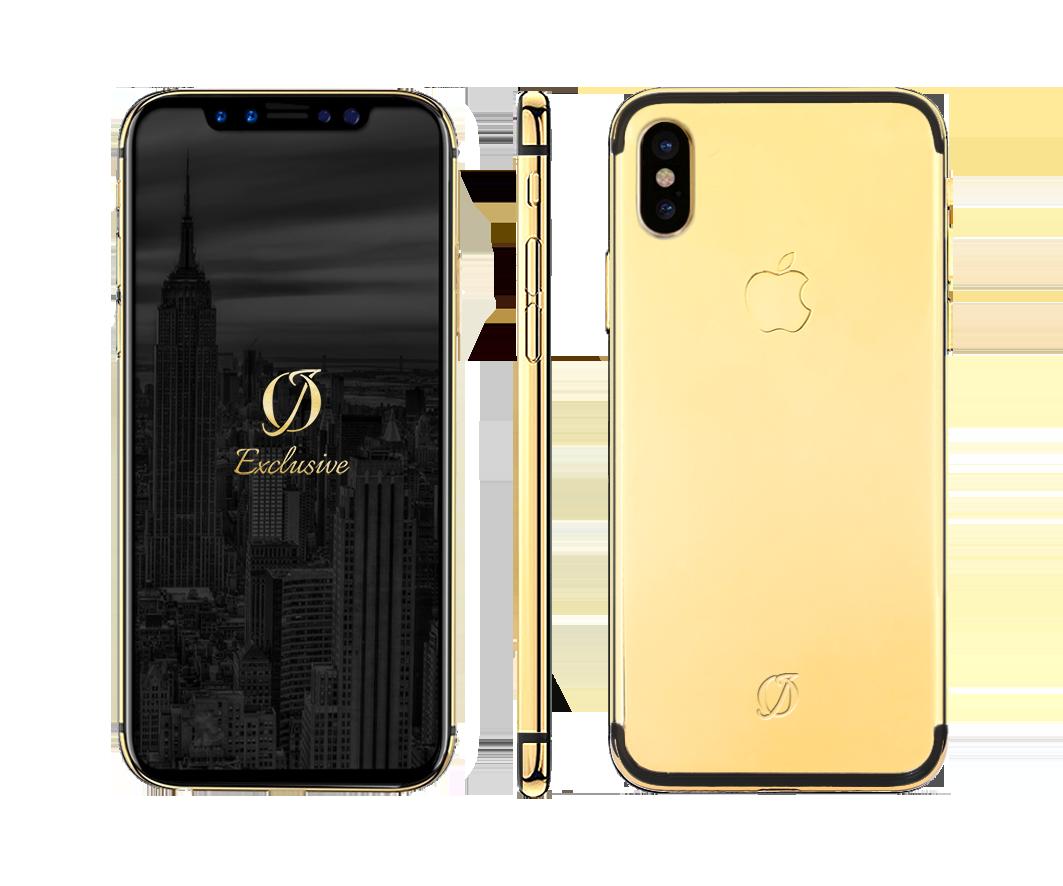 pretty nice 82c88 71782 IphoneX Real Gold Case (LimitedEditon)
