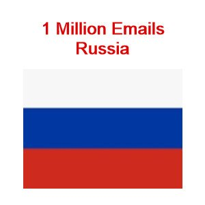 Russia emails 1 million