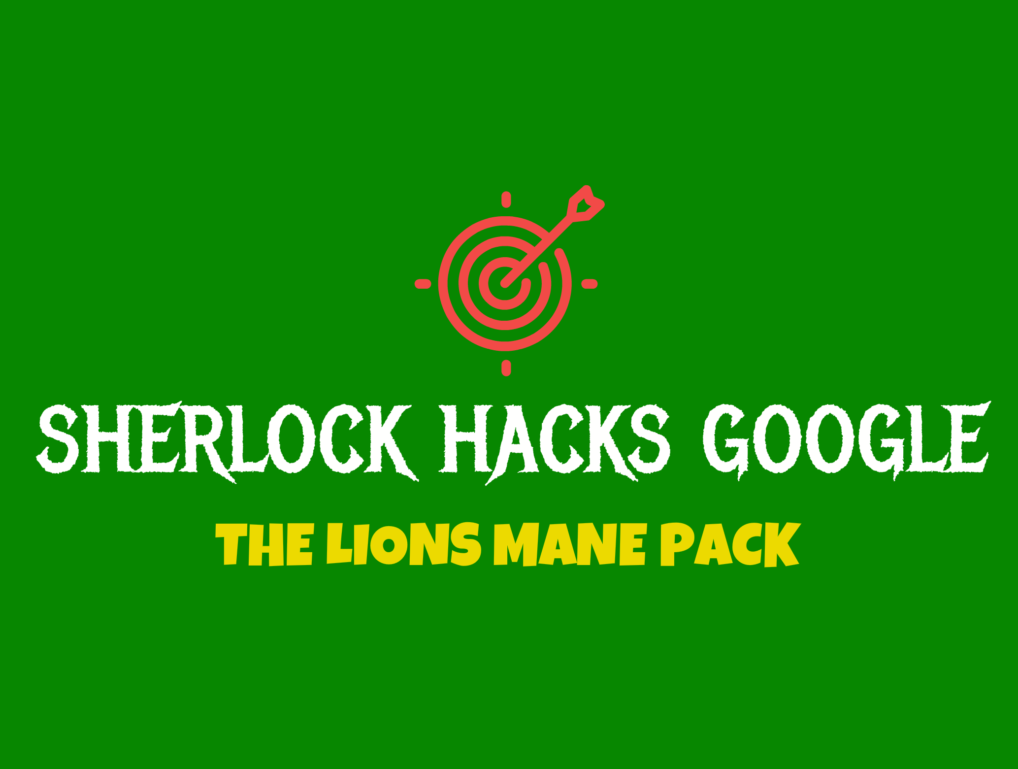 THE LIONS MANE SEO PACK