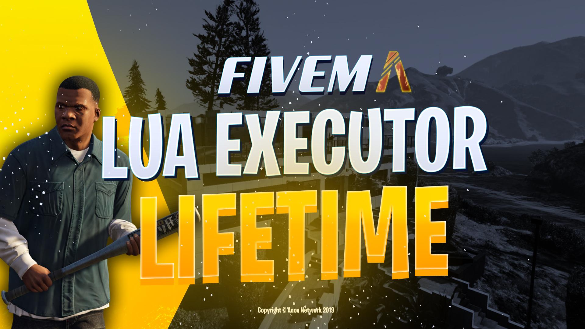 [LIFETIME $35] FiveM Lua Executor