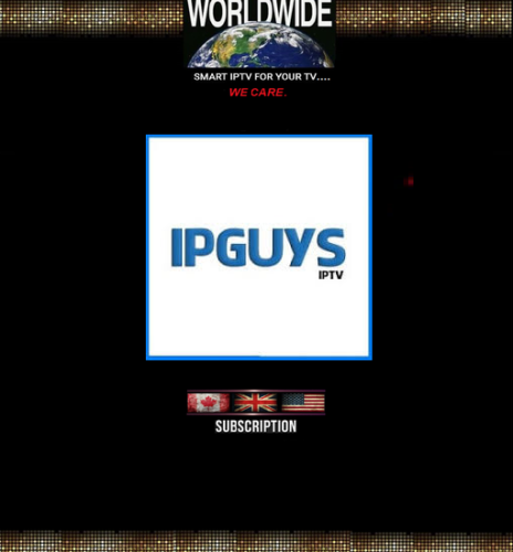 IPGUYS IPTV Pack 1- Month Subscription.