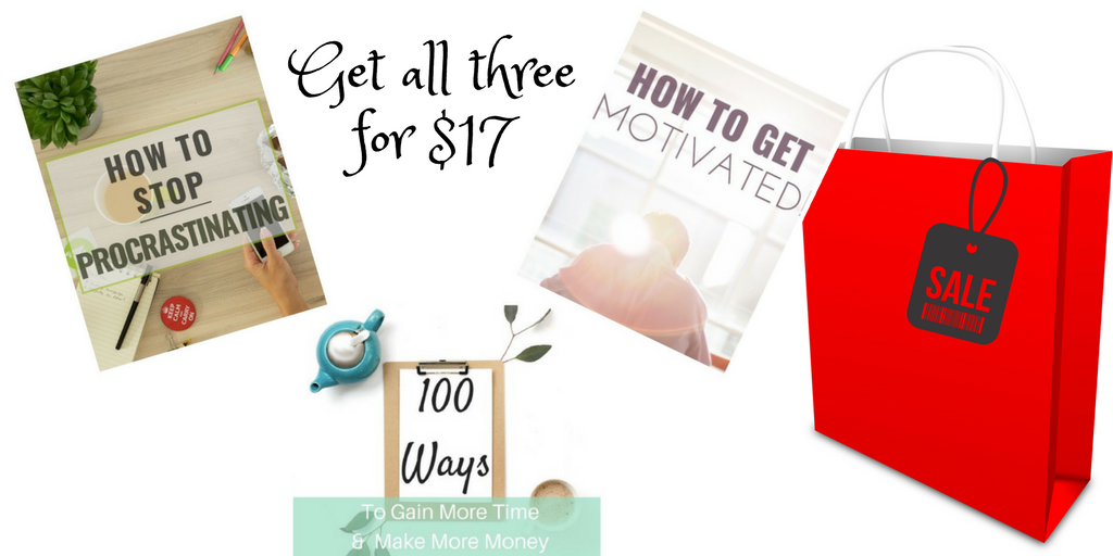 3 Ebook Bundle Blowout!