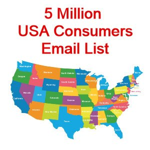 5 Million USA Consumers Email Database
