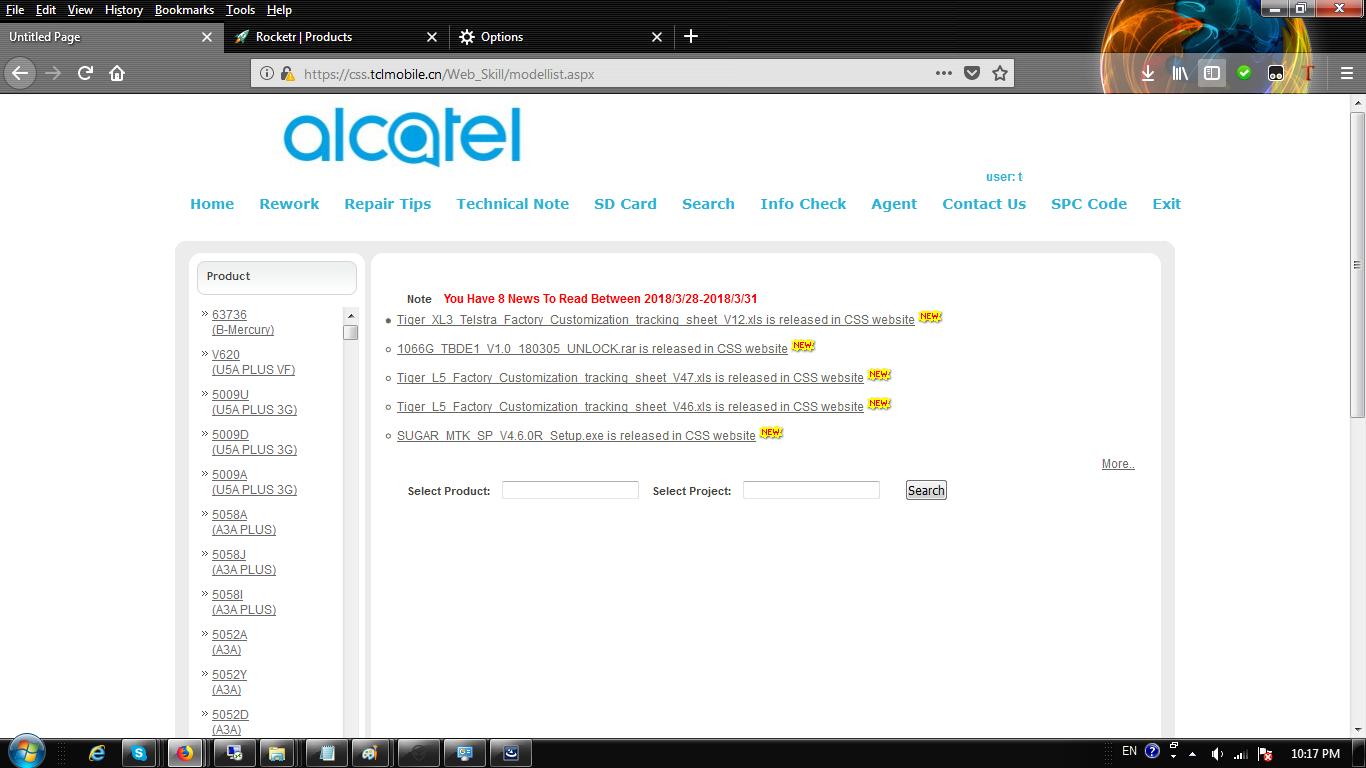 Alcatel 5009a Unlock