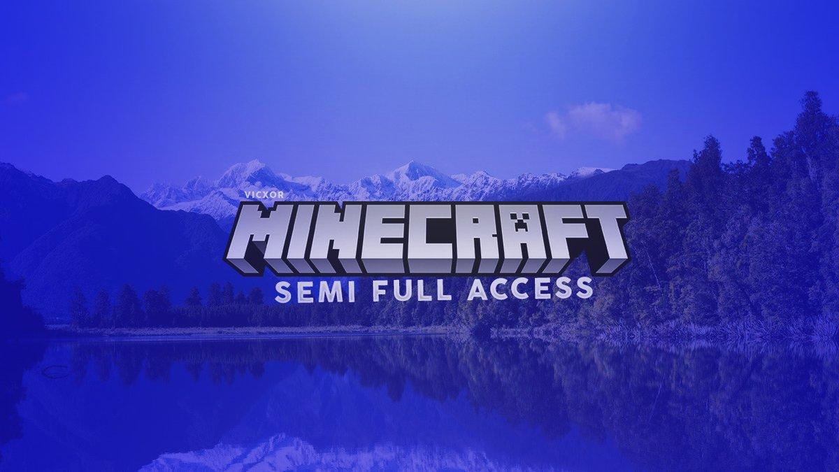 Minecraft Semi Full access account