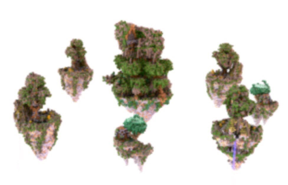 Minecraft Bedwars Map