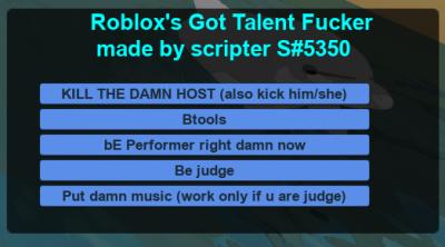 Roblox Gui Script