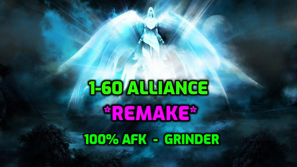 [Wrobot] 1-60 Alliance GRINDER - REMAKE *NO AUTH*