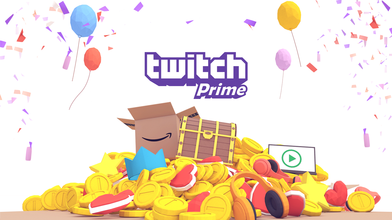 Twitch prime ready account