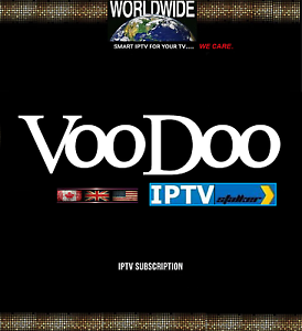 VooDoo TV Pack 6- Months Subscription